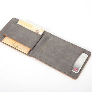 Minimalist Slim Wallet Money Clip